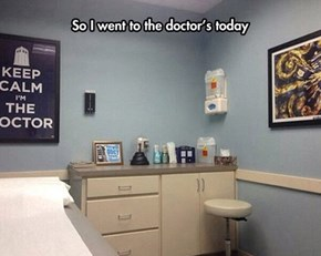 His Exam Room Is Bigger On The Inside