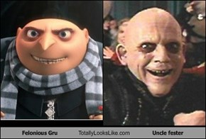 Felonious Gru Totally Looks Like Uncle fester
