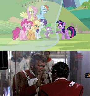 Famous Movie Scenes Reenacted By Ponies