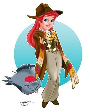Maybe All the Disney Princesses are the Lady Incarnations of the Doctor