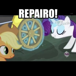 Rarity Used Repairo