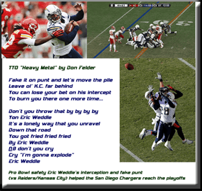 """Eric Weddle"" (TTO ""Heavy Metal"" by Don Felder)"