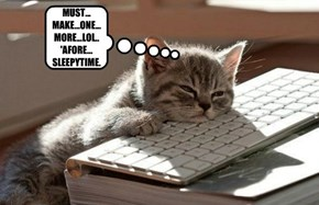 MUST... MAKE...ONE...MORE...LOL.. 'AFORE... SLEEPYTIME.