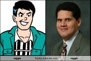 Reggie Mantle Totally Looks Like Reggie Fils-Aime