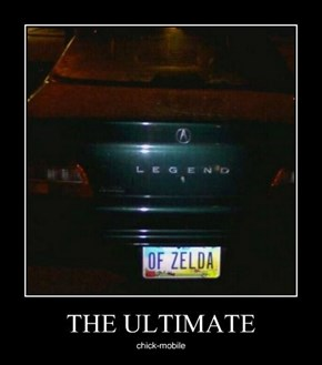 Who Knew Link Had a Car?