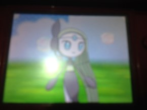 I finally got a Meloetta