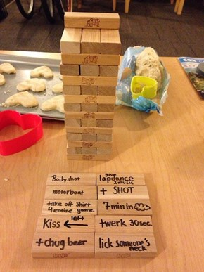 How to Make Jenga Way, Way More Fun