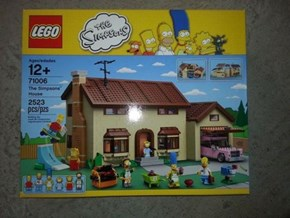 LEGO Craftsmanship of the Day: Image of First Simpsons LEGO Set has Emerged