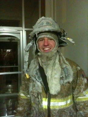 Don't be Envious of Our Brave Firefighters During This Winter Freeze