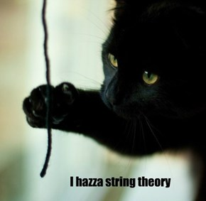 I hazza string theory