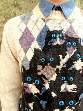 I Always Feel Like My Sweater's Watching Me