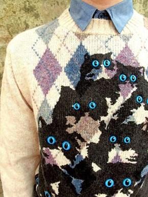 I Always Feel Like My Sweater's Watching Me