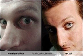 My friend Silvio Totally Looks Like Tre Cool
