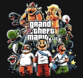 Grand Theft Mario