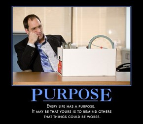 And What a Purpose it Is