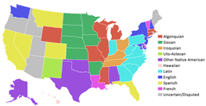 Chart of the Day: Meanings of 50 States' Names