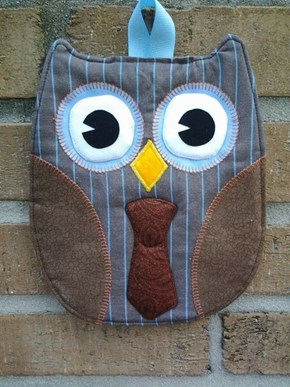 Get a Doctor Hoot Hot Pad for Things That are Too Hot to Handle on Your Own