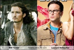 Will Turner Totally Looks Like Leonard Hofstadter