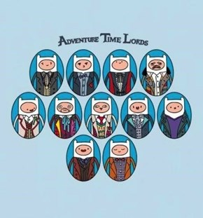 I'd Go Adventuring With Any of These Adventure Time Lords