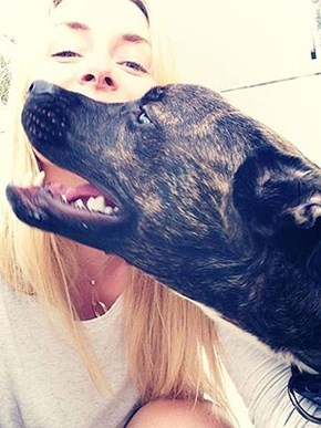 Lindsey Vonn Adopts Disabled Dog