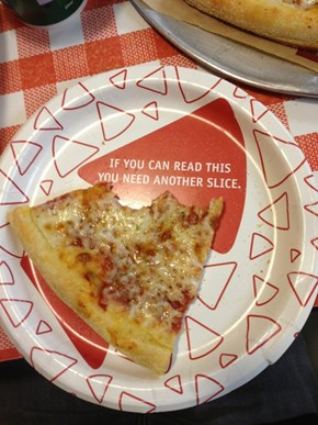 I'm Okay With This Plate Telling Me How to Live My Life