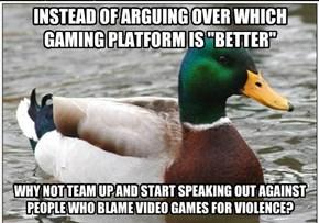 Gamers Unite?