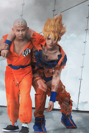 This Cosplay Doesn't Make Sense, How Is Krillin Alive?