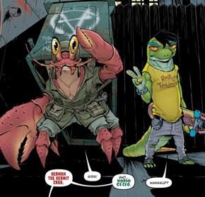 Mondo Gecko joins IDW TMNT