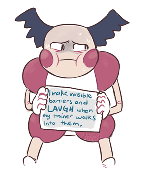 Shame on You Mr. Mime