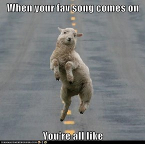 Don't Be Sheepish, Dance!