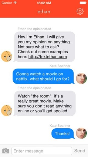 Ethan is the App That Wants You to Ask Any Question in the World, and One Live Person Will Answer it