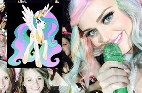 Katy Perry's Working On Becoming An Alicorn
