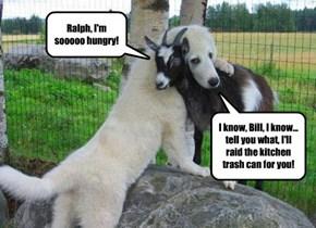 Ralph, I'm sooooo hungry!