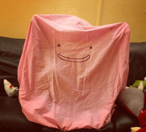 A Simple Ditto Cosplay for Halloween