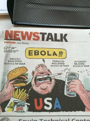 America's Concerns Over Ebola Are Understandable, Yet Still a Little Strange