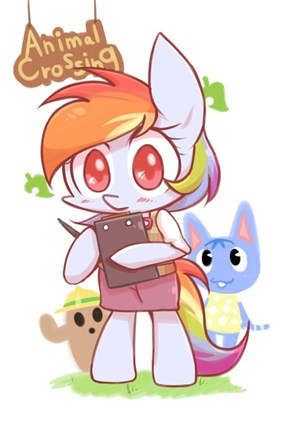 Rainbow Dash Is The Mayor of Cute