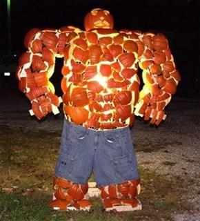 It's Pumpkin Clobbering Time