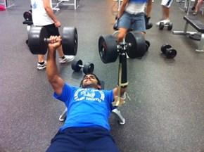 Suddenly Your Workout Routine Seems a Little Less Badass