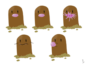 Diglett Wednesday: Now Everyone Nose The Truth