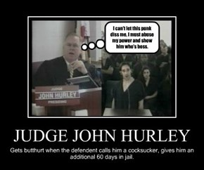 JUDGE JOHN HURLEY