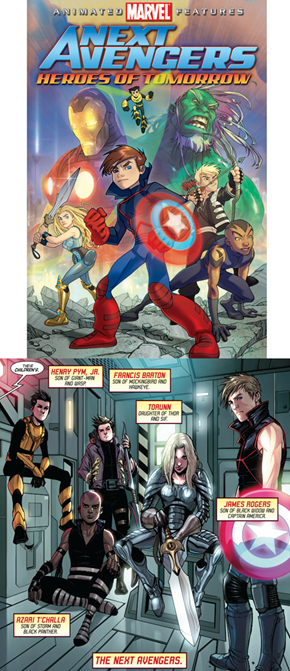 The Next Avengers comic version