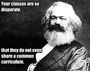 Marx's burns are a little heady.