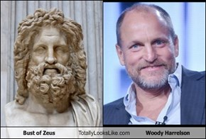Bust of Zeus Totally Looks Like Woody Harrelson