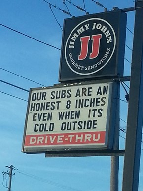 Not Like Those Other Sandwich Places...