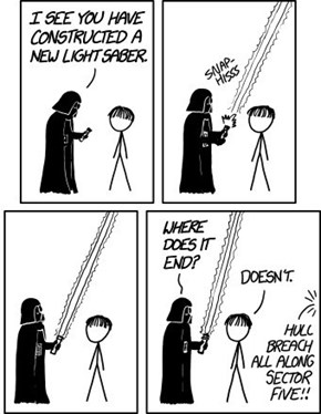 An Alternate Way to Destroy The Deathstar