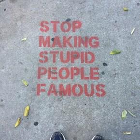 Listen to the Wise Sidewalk, People