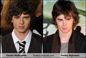 Charlie McDermott Totally Looks Like Freddy Highmore