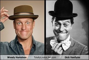 Woody Harrelson Totally Looks Like d*ck VanDyke