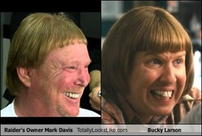 Raider's Owner Mark Davis Totally Looks Like Bucky Larson