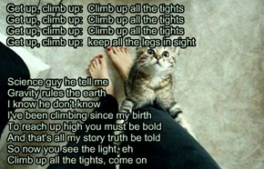 """""""Get Up, Climb Up"""" TTO """"Get Up, Stand Up"""" by Bob Marley"""